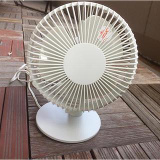 ムジルシリョウヒン(MUJI (無印良品))の無印良品コンパクト扇風機(扇風機)