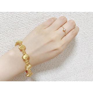 フラワー(flower)のchain ring 🍇(リング(指輪))