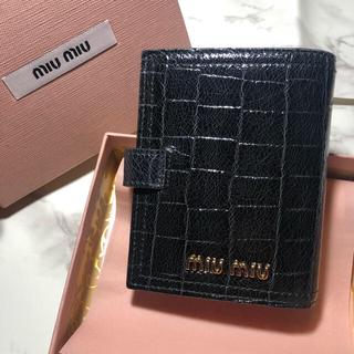 7c085b0d1446 ミュウミュウ プリント(ブラック/黒色系)の通販 24点 | miumiuを買う ...