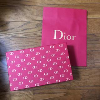 ディオール(Dior)のDior  ギフト用ボックス・リボン・紙袋(ラッピング/包装)