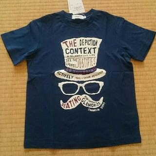 ザショップティーケー(THE SHOP TK)のTHE SHOP TK 半袖Tシャツ 130 ネイビー(Tシャツ/カットソー)