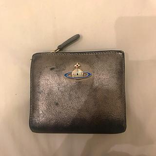 ヴィヴィアンウエストウッド(Vivienne Westwood)のVivienne Westwood 折りたたみ財布 グレーシルバー(財布)