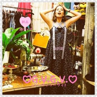 G.V.G.V. - 【新品】♥スザンヌさん私服♥G.V.G.V.*ワンピース《NAVY/38サイズ》