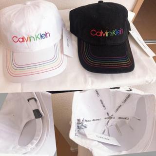 カルバンクライン(Calvin Klein)のCalvin Klein✨ 未使用品✨男女兼用レインボーキャップ✨(キャップ)