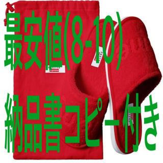 シュプリーム(Supreme)のsupreme Frette® Slippers 8-10(スリッパ/ルームシューズ)
