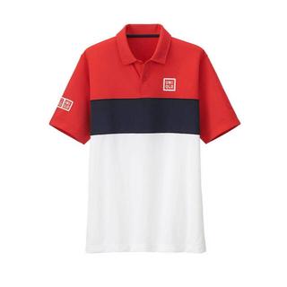 ユニクロ(UNIQLO)の入手困難 希少 ユニクロ 錦織圭 2015 全仏 ポロシャツ XL(ウェア)