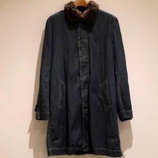 サカイ(sacai)の売り切り価格 sacai デニムボアステンカラーコート(ステンカラーコート)
