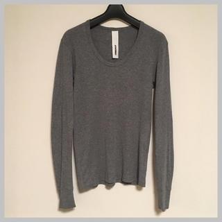 d84280bdda1df7 アタッチメント(ATTACHIMENT)のATTACHMENT 長袖UネックTシャツ(Tシャツ/カットソー