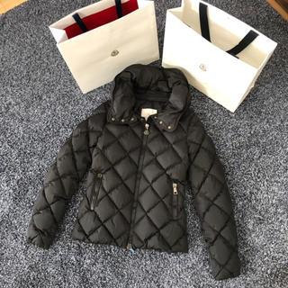 モンクレール(MONCLER)のモンクレール 国内正規品 BOURG ブラック サイズ0 美品(ダウンジャケット)