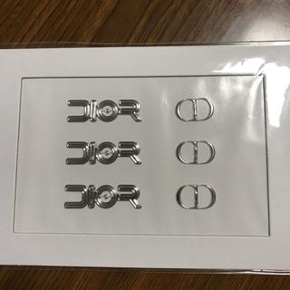 ディオール(Dior)のメンズノンノ 付録 Dior ステッカー(ファッション)