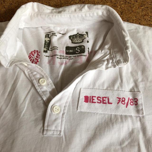 DIESEL(ディーゼル)のDIESEL ポロシャツ メンズのトップス(ポロシャツ)の商品写真