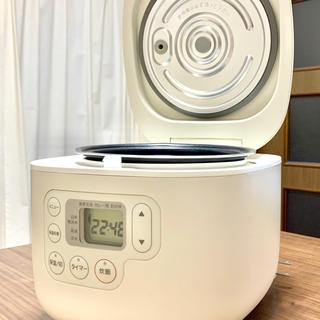 ムジルシリョウヒン(MUJI (無印良品))の無印良品3号炊き炊飯器(炊飯器)