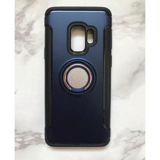 444e37d20e ギャラクシー(galaxxxy)のGalaxyS9/GalaxyS9Plus カッコいい リング付き耐衝撃ケース(