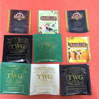 ディーンアンドデルーカ(DEAN & DELUCA)の紅茶 セット TWG BASILUR(茶)