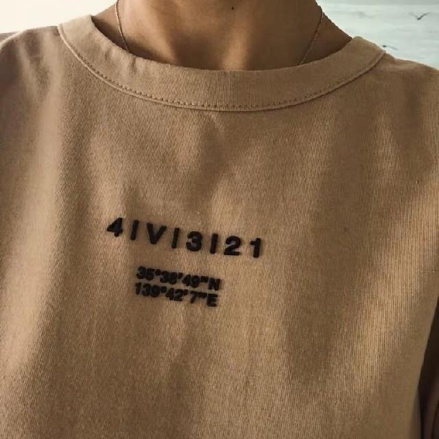 Ameri VINTAGE(アメリヴィンテージ)の新作 ameri Tシャツ レディースのトップス(Tシャツ(半袖/袖なし))の商品写真