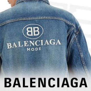 バレンシアガ(Balenciaga)の美品 BALENCIAGA バレンシアガ デニムジャケット(Gジャン/デニムジャケット)