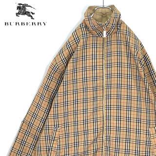 BURBERRY - 送料無料!バーバリー ロンドン リバーシブル スウィングトップ 全面ノバチェック