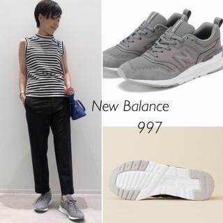 アパルトモンドゥーズィエムクラス(L'Appartement DEUXIEME CLASSE)の新品⭐️19SS/New Balance/ニューバランス/997/アパルトモン(スニーカー)