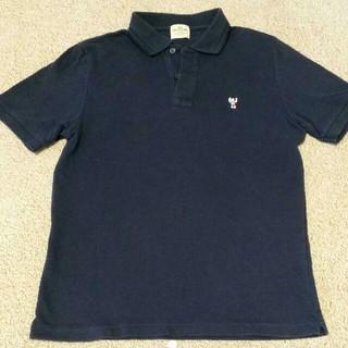 コーエン(coen)のcoen ポロシャツ 紺 Sサイズ(ポロシャツ)