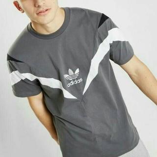 アディダス(adidas)のアディダスオリジナルス 日本未発売 アディダス Tシャツ レトロ ロゴ(Tシャツ/カットソー(半袖/袖なし))