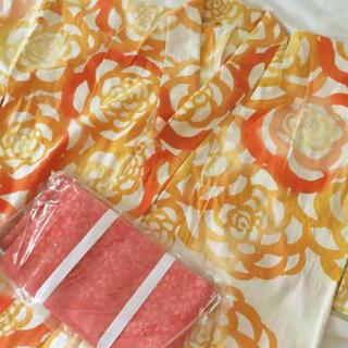 ツモリチサト(TSUMORI CHISATO)のツモリ 浴衣 オレンジ(浴衣)