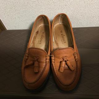 ダブルクローゼット(w closet)のw closet✖︎HARUTA ローファー(ローファー/革靴)