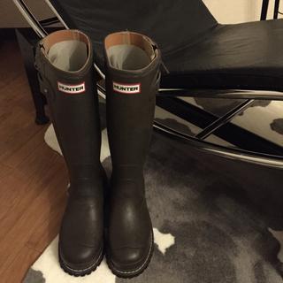ハンター(HUNTER)のハンター ソブリン 最高級 ブラウン レインブーツ(レインブーツ/長靴)