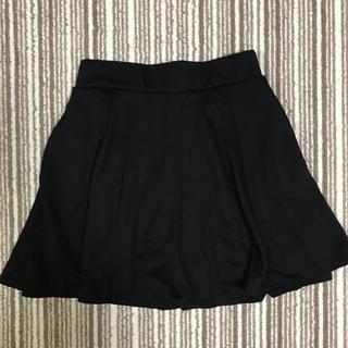 しまむら - しまむら フレア ミニ スカート 黒