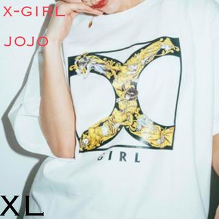 エックスガール(X-girl)のx-girl  jojo コラボ T (Tシャツ(半袖/袖なし))