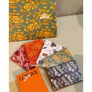 ロエベ(LOEWE)の限定✨ロエベLOEWE パウラズ イビザ コレクション ノートブック 5色セット(ノート/メモ帳/ふせん)