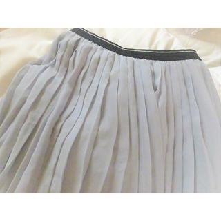 美品ユニクロ/ふんわりプリーツスカート/子供用&大人用/ダンスウェア