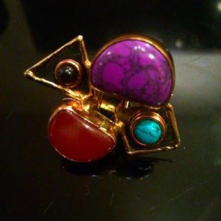 ルシェルブルー(LE CIEL BLEU)のリング(リング(指輪))