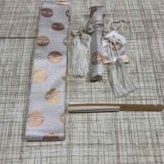 七五三  五歳用袴小物セット  帯 、懐剣、御守り、白扇