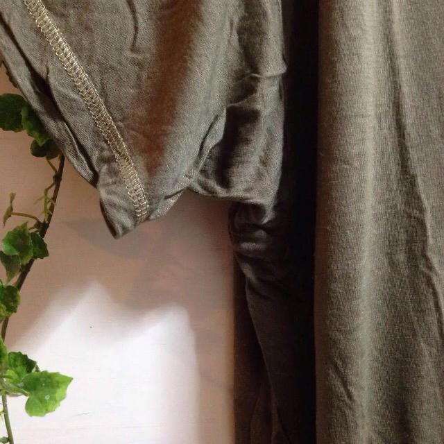 Soareak(ソアリーク)のソアリーク モスグリーン ドルマン チュニック レディースのトップス(チュニック)の商品写真
