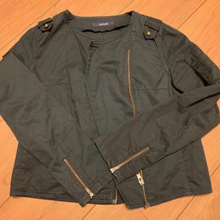 ミスティック(mystic)のミスティック ブラックジャケット(ノーカラージャケット)
