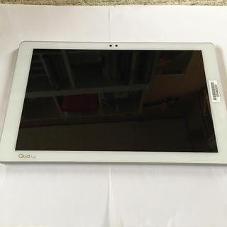 エルジーエレクトロニクス(LG Electronics)のau タブレット Qua tab pz (ホワイト)(タブレット)