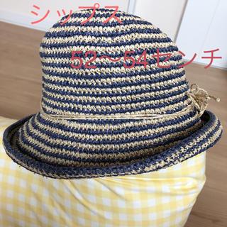 シップス(SHIPS)のシップス麦わら帽子  52〜54センチ(帽子)