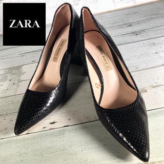 ザラ(ZARA)の【ZARA BASIC】ザラベーシック (25cm) パンプス(ハイヒール/パンプス)