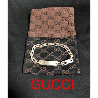 92fe59f3c8b0 グッチ(Gucci)のGUCCI グッチ ブレスレット シルバー 正規品 中古 送料無料(ブレスレット