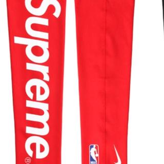 シュプリーム(Supreme)のSupreme×NIKE×NBA Shooting Sleeve Red (バスケットボール)