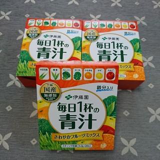 伊藤園 - 伊藤園 毎日一杯の青汁 フルーツ③