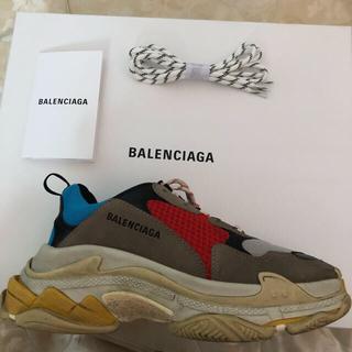 バレンシアガ(Balenciaga)のBALENCIAGA triples 41 国内正規品  マルチカラー(スニーカー)