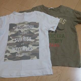 ジーユー(GU)のTシャツ2枚セット!110(Tシャツ/カットソー)