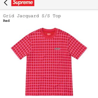 シュプリーム(Supreme)のsupreme Grid Jacquard SS シュプリーム(Tシャツ/カットソー(半袖/袖なし))