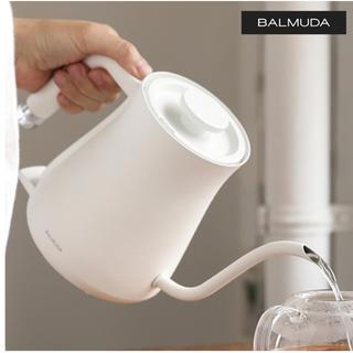 バルミューダ(BALMUDA)のBALMUDA バルミューダ ザ・ポット (ホワイト)(電気ケトル)