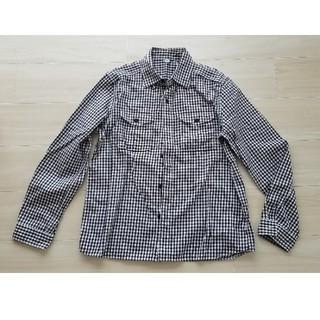ユニクロ(UNIQLO)のユニクロUNIQLOギンガムチェックコットンシャツM(シャツ)