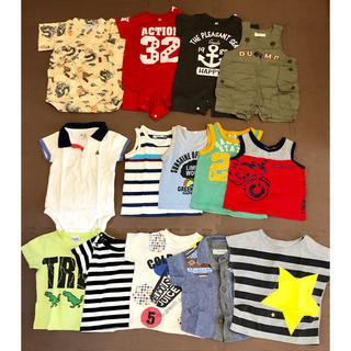 ベビーギャップ(babyGAP)の【 お値下げ 】男の子服 14点セット size : 80(ロンパース)