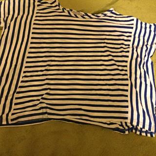 バーニーズニューヨーク(BARNEYS NEW YORK)のバーニーズニューヨークストライプTシャツ(Tシャツ(半袖/袖なし))