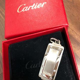 カルティエ(Cartier)の*super5様専用*正規品●カルティエ●サントス●プレート●ネックレス(ネックレス)