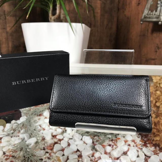 BURBERRY(バーバリー)のBURBERRY キーケース バーバリー コインケース付き メンズのファッション小物(キーケース)の商品写真